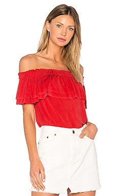 Birdy Top in Coral