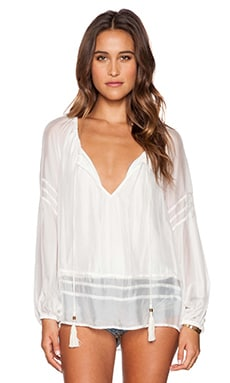 YFB CLOTHING Herrin Top in White