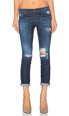 Acquaverde Boyfriend Jean in Ragged