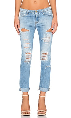 Acquaverde Boyfriend Jean in Damaged