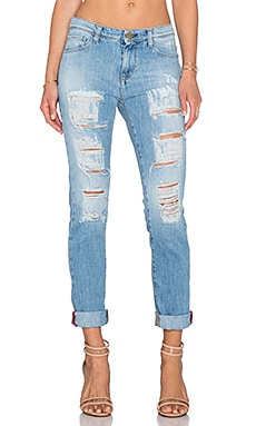 Acquaverde Skinny Jean in Super Ripped