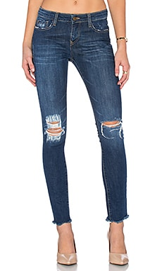Acquaverde Skinny Jean in Ragged