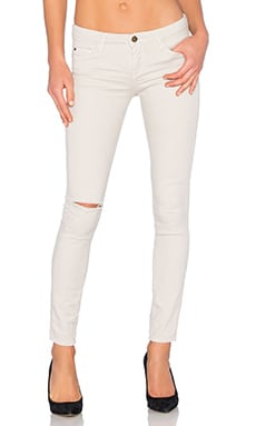 Scarlett Skinny in Sand White Crack