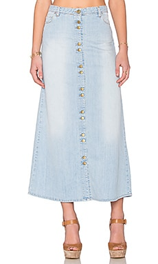 Haley Maxi Skirt in Light Used