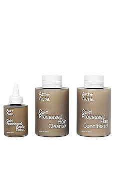 KIT POUR CHEVEUX THE ESSENTIALS Act+Acre $85