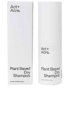 Plant Based Dry Shampoo Act+Acre $22