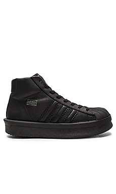 adidas by Rick Owens Pro Model Sneakers in Black