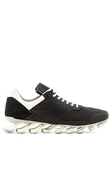 adidas by Rick Owens Springblade Low in Black Black White