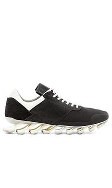 adidas by Rick Owens Springblade Low en Noir Noir Blanc