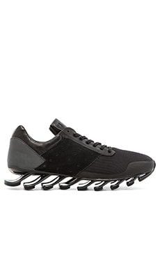 adidas by Rick Owens Springblade Low in Black Black Black