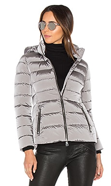 Down Jacket in Titanium