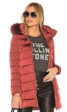 Down Fur Trim Coat ADD $251