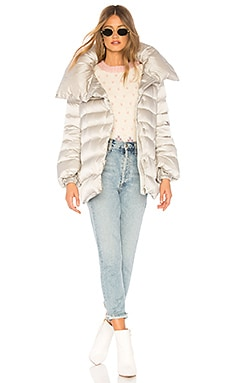 Down Short Cape Jacket ADD $440