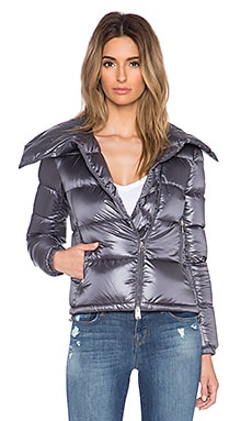 ADD Down Biker Jacket in Mercury