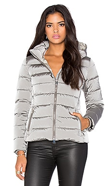 ADD Down Puffer Jacket in Pearl