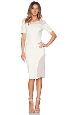 ADDISON Eva Dress in Milk