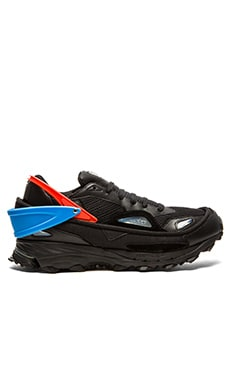 adidas by Raf Simons Response Trail 2 in Core Black Multi