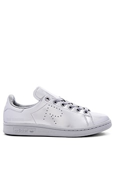 Stan Smith Sneaker in Silver Metallic