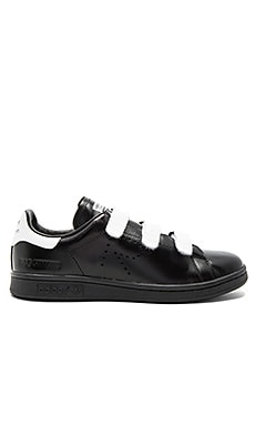 RS Stan Smith CF Sneaker in White & Black