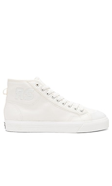 Spirit High Top Sneaker in Off White