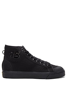 Spirit High Top Sneaker in Black