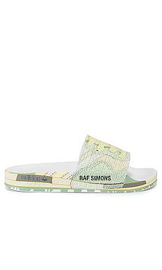 Peach Adilette Slide adidas by Raf Simons $140