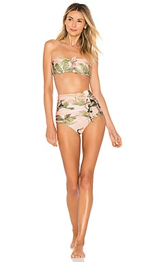 Toucan Strapless Bikini Set ADRIANA DEGREAS $312 Collections