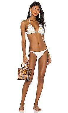 Daisy Triangle Bikini Set ADRIANA DEGREAS $360
