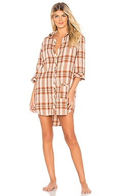 Jo Flannel Sleep Shirt ANDERSON $40 (FINAL SALE)