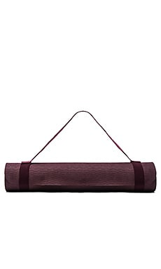 adidas by Stella McCartney Yoga Mat in Maroon, Mystery & White