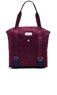 adidas by Stella McCartney Yoga Bag in Maroon, Dark Blue & Vista Grey