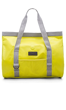 adidas by Stella McCartney Swim Tote Grey in Yellow Zest & Pearl