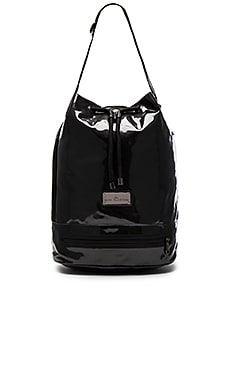adidas by Stella McCartney Fashion Shape Bag in Black & Gunmetal