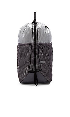 adidas by Stella McCartney Run Packable Backpack in Silver & Granite