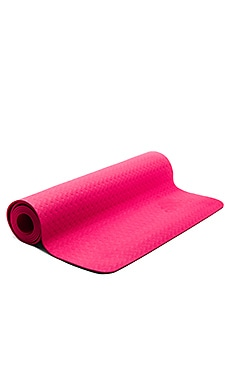 Yoga Mat in Shock Pink & Ruby Red