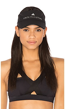 Cotton Visor in White & Black