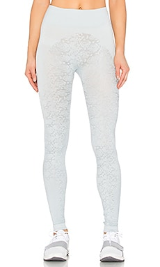 adidas by Stella McCartney Essentials Snake Seamless Tight in Eggshell