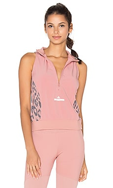 adidas by Stella McCartney Studio High Intensity Tank in Plaster Pink
