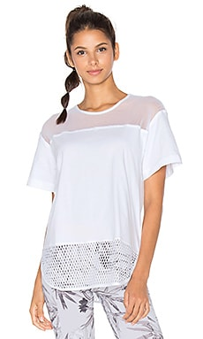 adidas by Stella McCartney Essentials Mesh Tee in White