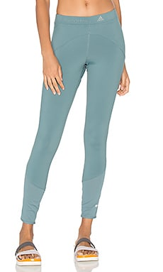 adidas by Stella McCartney Run Clima Long Tight in Chalk Blue