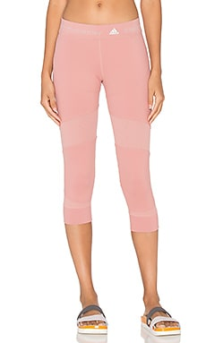 adidas by Stella McCartney Run Clima 3/4 Tight in Plaster Pink