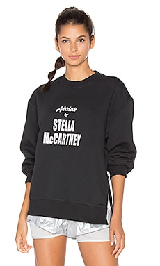 adidas by Stella McCartney Yoga Sweatshirt in Black