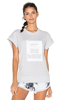 adidas by Stella McCartney Yoga Tee in Grey