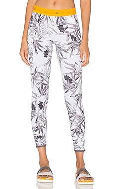 adidas by Stella McCartney Yoga Clima Bamboo Tight in Grey & Multicolor