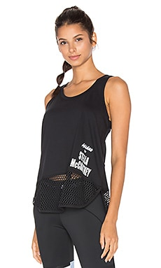 adidas by Stella McCartney Essentials Logo Tank in Black