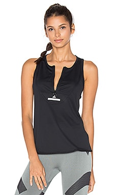 adidas by Stella McCartney Essentials Clima Chill Tank in Black