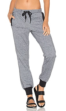 adidas by Stella McCartney Essentials Sweatpant in Black White