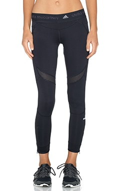 adidas by Stella McCartney Running 7/8 Tight in Black