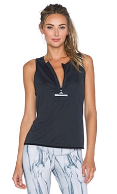 adidas by Stella McCartney Climachill Tank Top in Chill Black Melange