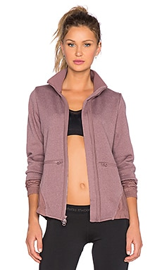 adidas by Stella McCartney Perf Midlayer Jacket in Grape Wine & Smoked Pink